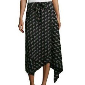 Worthington Zelenia Geo Sarong Skirt